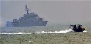 Korea's navies trade fire